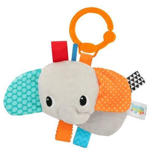 BRIGHT STARTS Zabawka na C-krążku Tag Friends for Me™ Słoń 0m+ z kategorii Grzechotki i gryzaki