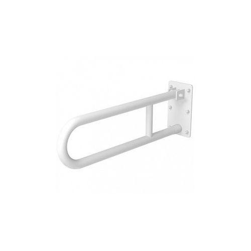 Faneco Poręcz uchylna dla niepełnosprawnych 800 mm biała