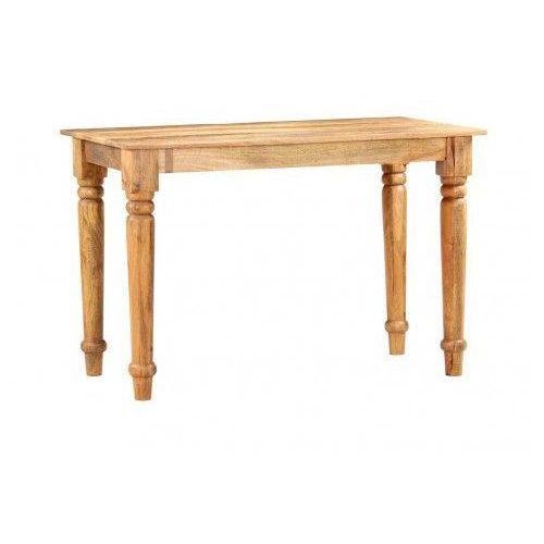 Elior Stół do jadalni drewniany lavex – brązowy