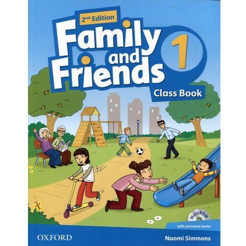 Family And Friends 1 Second Edition. Podręcznik + MultiROM, Oxford University Press