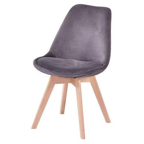 Nowoczesne tapicerowane krzesło valentino marki Hliving