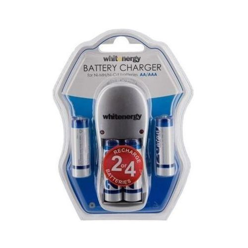 Ładowarka WHITENERGY do akumulatorów AA/AAA