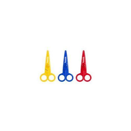 Nożyczki plastikowe colorino baby 12,5 cm marki Patio