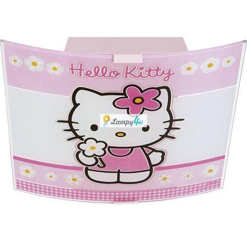Plafon dziecięcy HELLO KITTY 2xE27/60W - produkt z kategorii- Oświetlenie dla dzieci