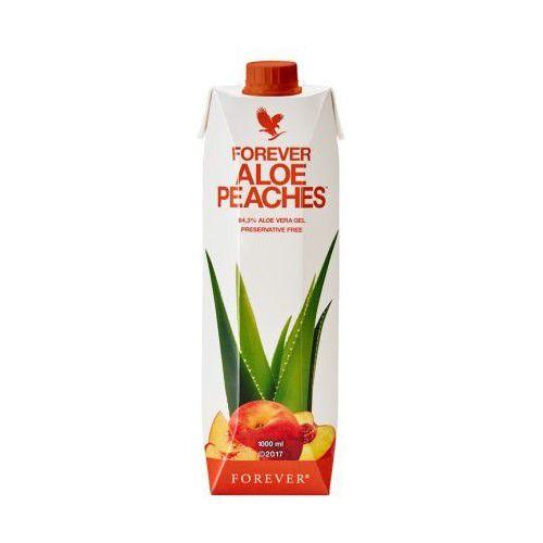 Nektar z miąższem z liści aloesu o smaku brzoskwiniowym - forever aloe peaches marki Forever living products