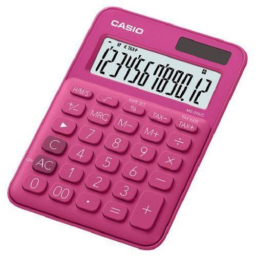 Casio Kalkulator ms-20uc-rd-s różowy
