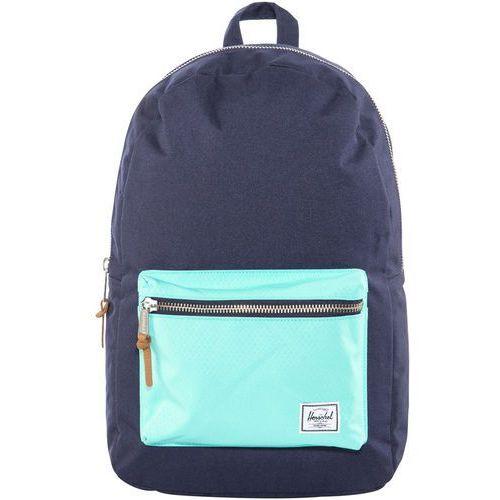 Herschel settlement plecak niebieski 2018 plecaki szkolne i turystyczne