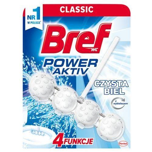 power sktiv zawieszka do muszli wc czysta biel 50 g marki Bref