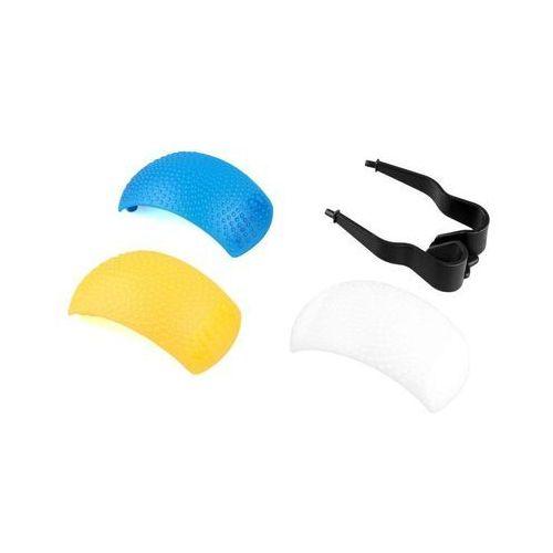 Uniwersalny Dyfuzor Pop-up stopka 3 kolory