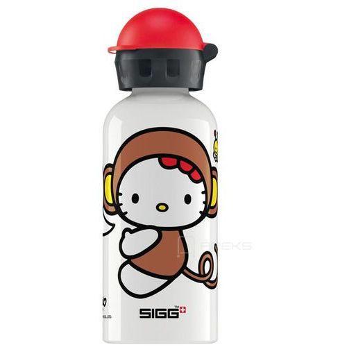 kids hello kitty monkey butelka / bidon 0.4l dla dzieci - hello kitty monkey marki Sigg