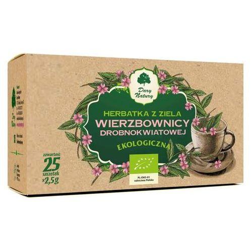 Herbatka ziele wierzbownicy drobnokwiatowej bio (25 x 2,5 g) - dary natury marki Dary natury - test