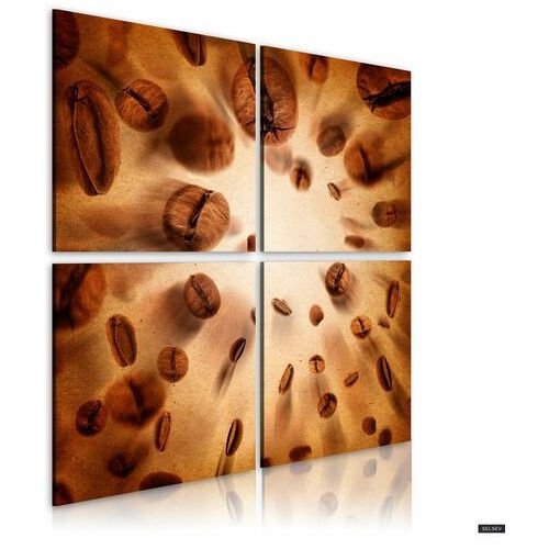 SELSEY Obraz - Energetic coffee 40x40 cm (5903025038605)