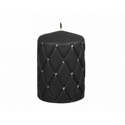 Świeczka dekoracyjna Florencja czarny, 10 cm, 678709