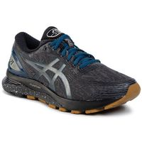 Buty ASICS - Gel-Nimbus 21 Winterized 1011A633 Graphite Grey/Black 020, kolor szary