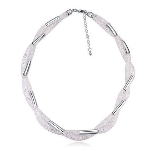 Naszyjnik z siateczki srebrny - srebrna marki Cloe