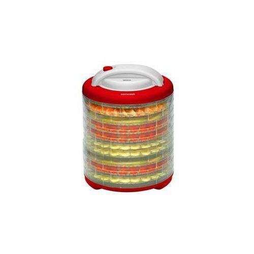 Suszarka do owoców Concept QUICK SO-2010 Dehydratator żywności Biała/Czerwona