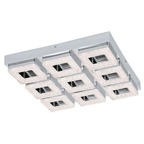 Eglo Plafon fradelo 95658 lampa sufitowa 9x4w led chrom / kryształ (9002759956585)