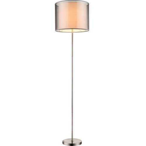 lampa stojąca nikiel matowy, 1-punktowy - - obszar wewnętrzny - theo - czas dostawy: od 6-10 dni roboczych marki Globo