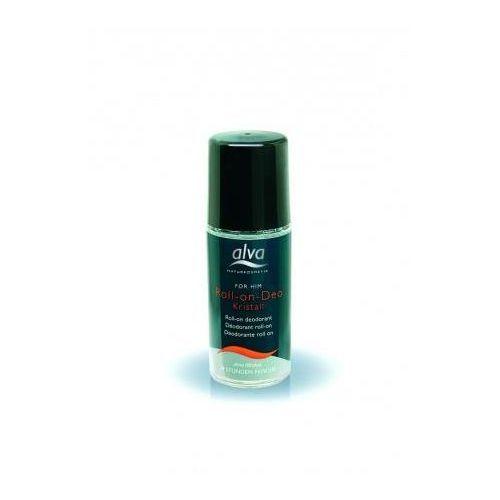 Alva Naturkosmetik For Him Dezodorant z kryształu roll-on Dezodorant z kryształu roll-on, 4013640031026