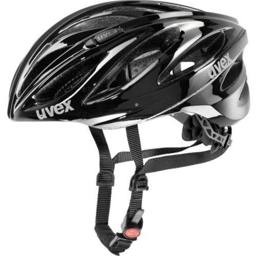 Uvex kask rowerowy boss race black 55-60