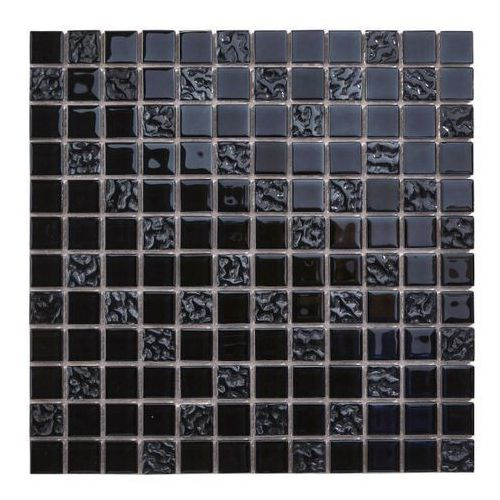 Mozaika Flourencia Colours 30 x 30 cm czarna (3663602994251)