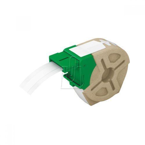 Kaseta z samoprzylepną plastikową taśmą do drukowania etykiet LEITZ Icon 12 mm biała, ES708
