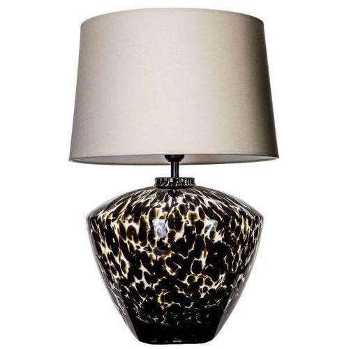 4concepts Lampa stołowa lampka ravenna 1x60w e27 beżowy/biały l034102220 (5901688141854)