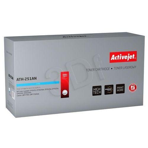 Activejet ATH-251AN Toner laserowy do drukarki HP (HP CE251A) Darmowy odbiór w 20 miastach!, EXPACJTHP0173