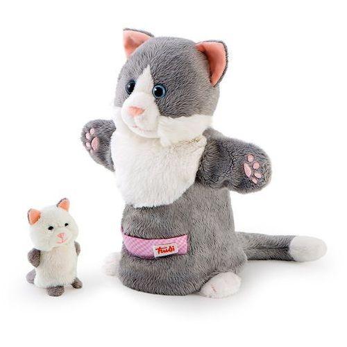 Trudi Pacynki na rękę, kotka i kotek - mama i dziecko