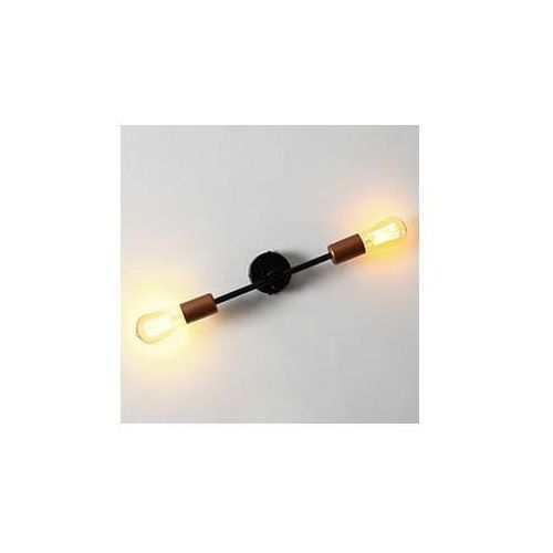 Lampa ścienna secto wall - kolor czarny marki Customform
