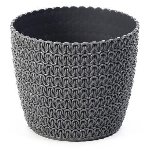 Osłonka plastikowa 30 cm antracytowa MAGNOLIA (5900119827367)