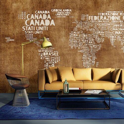 Artgeist Fototapeta - antyczna włoska mapa