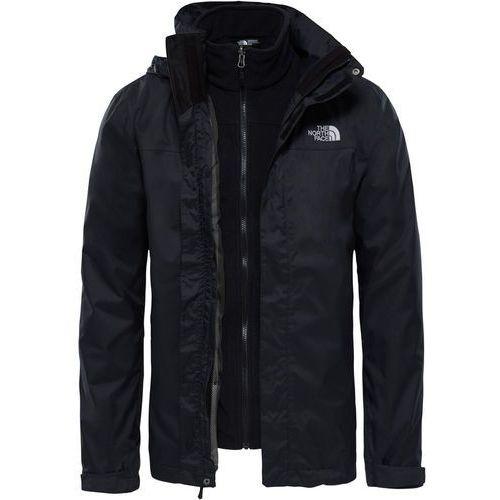 evolve ii triclimate kurtka mężczyźni czarny xl 2018 kurtki wspinaczkowe marki The north face