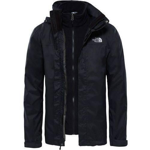 The North Face EVOLVE II TRICLIMATE 2IN1 Kurtka Outdoor black, poliester