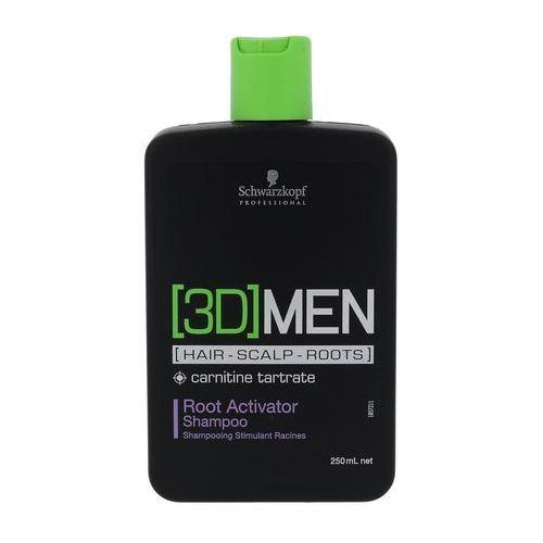 Schwarzkopf 3DMEN Root Activator szampon do włosów 250 ml dla mężczyzn, G0000001342