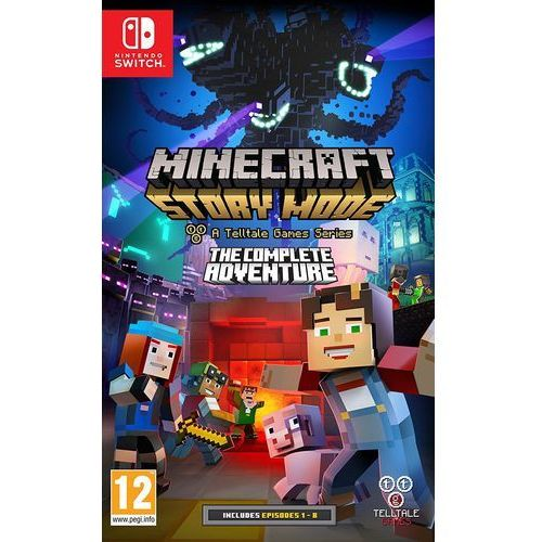 Nintendo Gra minecraft story mode:the complete adventure na konsolę switch