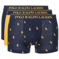 Polo Ralph Lauren 3-pack Bokserki Niebieski Żółty XXL, kolor niebieski