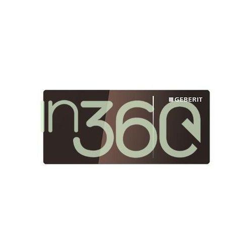 Geberit Omega70 Przycisk uruchamiający, zdalny, meblowy, umbra 115.083.SQ.1