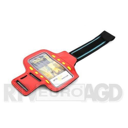 Platinet Sports LED Armband 43708 (czerwony), POSLR