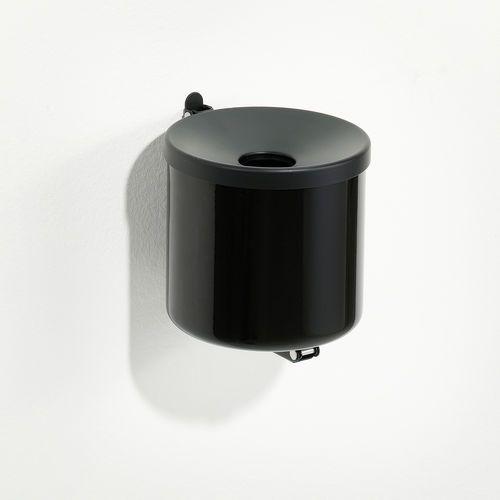Popielnica ścienna scott wys. 160 mm czarny marki Aj