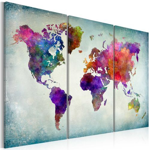 Obraz - Świat w kolorach