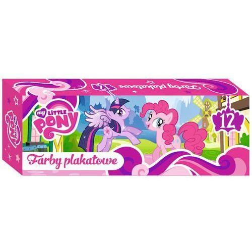 Farby plakatowe  12 kolorów my little pony (20 ml), marki St-majewski