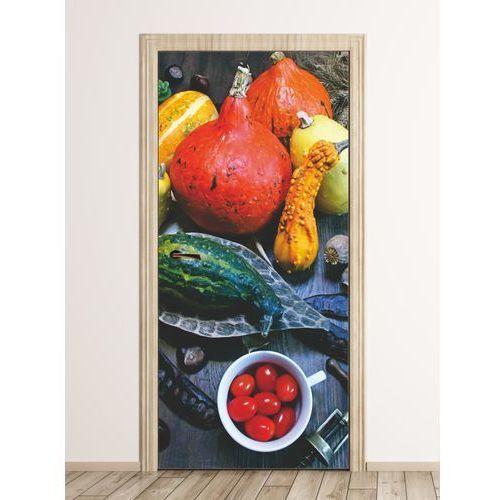 Fototapeta naklejka na drzwi warzywa owoce fp 6330 marki Wally - piękno dekoracji