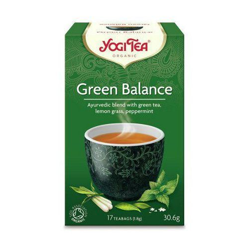 zielona harmonia (green balance) marki Yogi tea