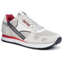 Sneakersy U.S. POLO ASSN. - Justin FLASH4117S0/YM1 Whi, kolor szary