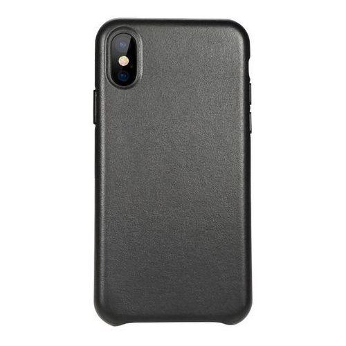 Etui Benks Eleleat Leather Case iPhone X Black
