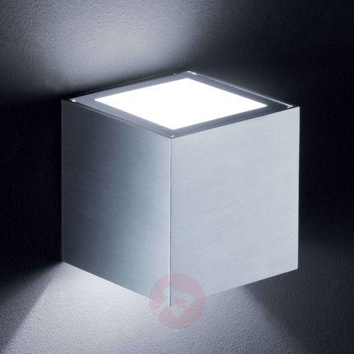 siri lampa ścienna aluminium, 1-punktowy - nowoczesny - obszar wewnętrzny - siri - czas dostawy: od 2-4 dni roboczych marki Helestra