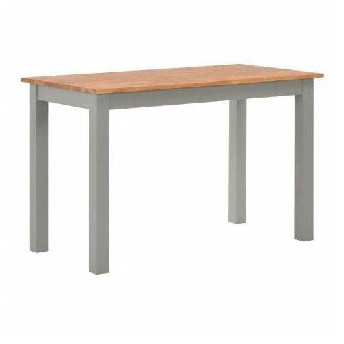 Elior Stół z drewna dębowego erin – szary