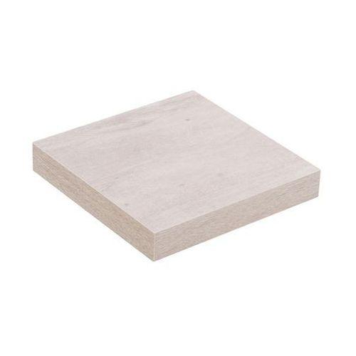 Spaceo Półka komorowa dąb szary 23,5 x 23,5 cm (5902537593817)