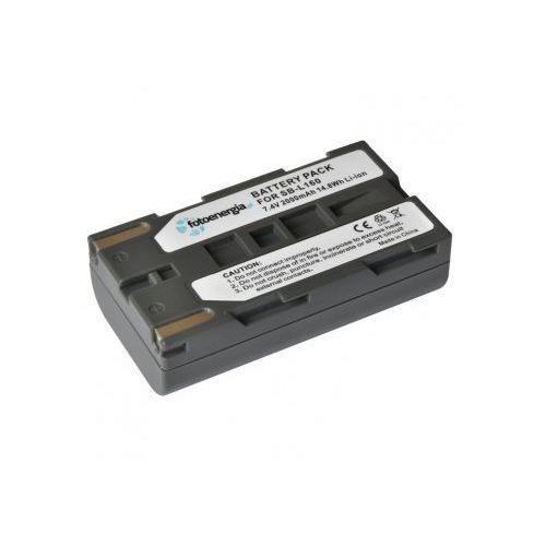 Akumulator sb-l160 do samsung li-ion wyprodukowany przez Fotoenergia
